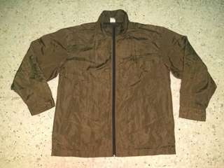 FOR SALE : CHAMPION DARK CHOCO COLOR WINDBREAKER