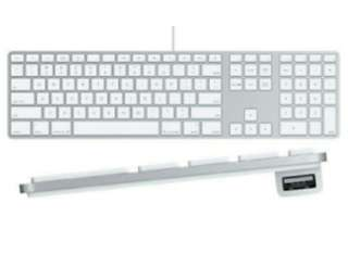 Apple Ultra-Thin Wired Keyboard with Numeric Keypad