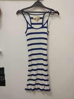 ORI abercrombie and fitch stripe blue