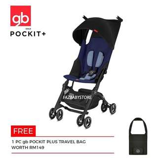 [READY STOCK] GB POCKIT PLUS GOLD 2018 with FREE Travel Bag