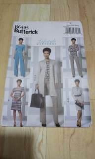 Brand New Butterick Paper pattern