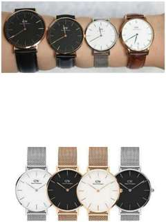Daniel Wellington All Type 100% Original