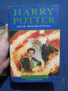 Harry Potter and the Half-Blood Prince (HB Bloomsbury)
