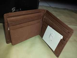 BRAND NEW giorgio agnelli wallet