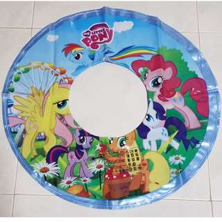 🚚 My Little Pony Inflatable 60cm Swimming Ring Float Blue Colour