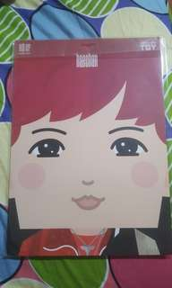 Haechan NCT127 Paper Toy