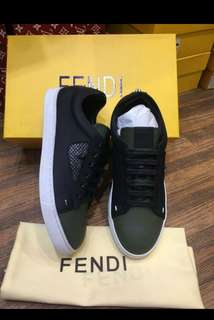 Sepatu Fendi Ori leather new