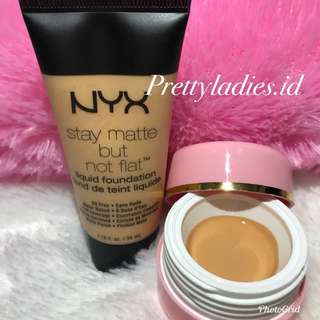 NYX STAY MATTE BUT NOT FLAT FOUNDATION Share In Jar