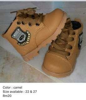 Kasut boot budak/kanak-kanak