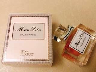 Miss Dior 2017年廣告最新香水EDP 5ml