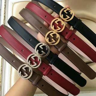 GG belt available in other shades