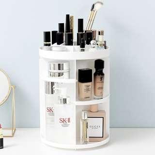 Makeup Organiser / 360 rotating cosmetic organiser