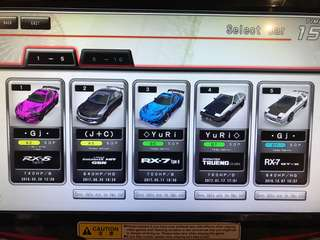 Wangan midnight maximum tune card