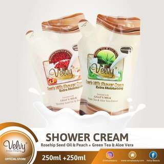 BUY 1 GET 1 Velvy goats milk shower cream