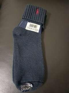 Polo Ralph Lauren Sock Navy Fits 9 to 11