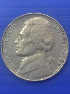 USA 5 Cent 1963