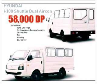 H-100 Dual AC 2.6 diesel MT