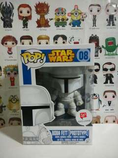 Funko Pop Boba Fett Prototype Exclusive Walgreens Vinyl Figure Collectible Toy Gift Movie Star Wars
