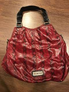 Authentic Nine West Snakeskin Bag