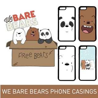 We Bare Bears Phone Casings