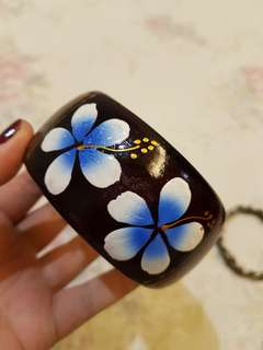Gelang / Bracelets Cokelat Bunga Bali