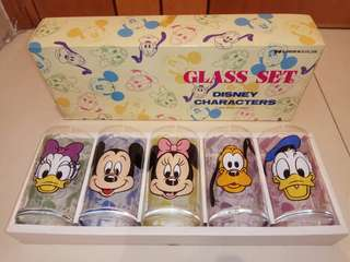 Sold. In another gp (Made in Japan) Disney Glasses×5