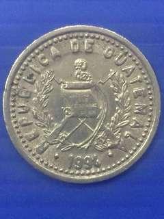 Guatemala 10 Centavos Y1994