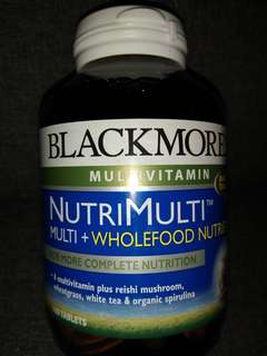 BLACKMORES MULTIVITAMIN <FOR MORE COMPLETE NUTRITION> 100 TABLETS