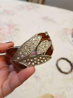 Gelang / Bracelets Gold Brown Silver