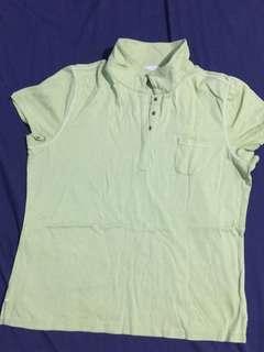 (AUTHENTHIC) Liz Golf Green Polo Shirt