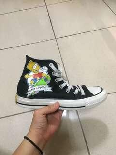 🚚 Converse 辛普森 辛普森家庭 高筒 帆布鞋