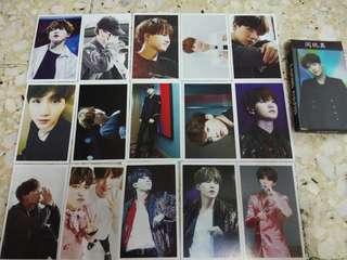 suga/Luhan lomo card