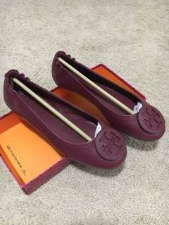 Tory Burch flat shoes - Maroon