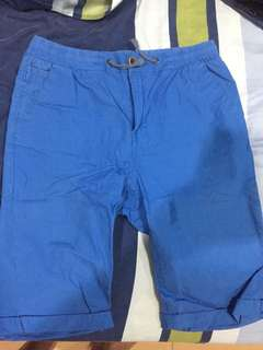 Blue shorts for boys (11-12 yr) aunthentic