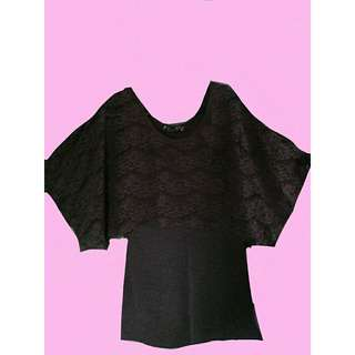 Kivenst Purple Sleeveless with Lace Cover-up