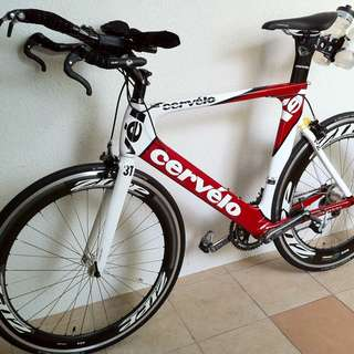 Cervelo P2 Di2 size 58 race ready for Sale