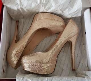 Aldo Gold High Heels / Stiletto