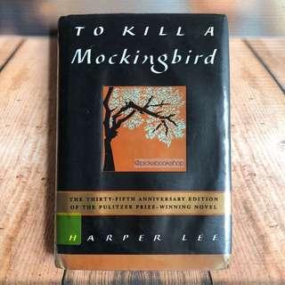 [RARE] To Kill a Mocking Bird 35th anniversary edition - Harper Lee