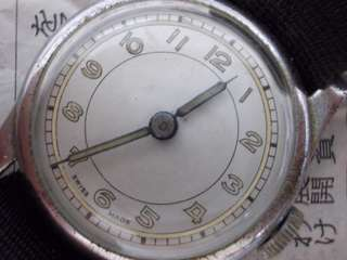 Vintage Unbranded military watch