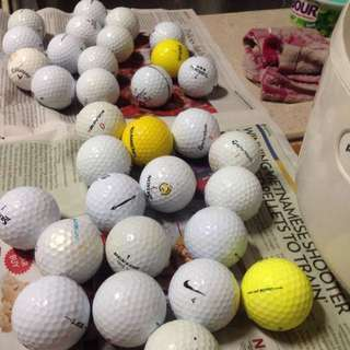 Golf balls ( random brands )