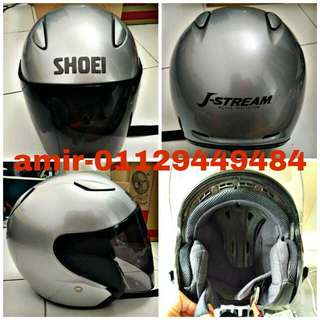 Helmet shoei jstream silver