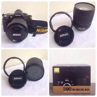 Kamera Nikon D90-18 105 Vr Kit