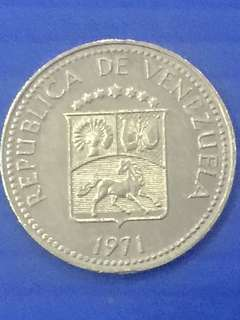 Venezuela 5 Centimo Y1971
