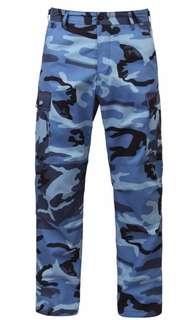 Rothco Camo Pants Blue