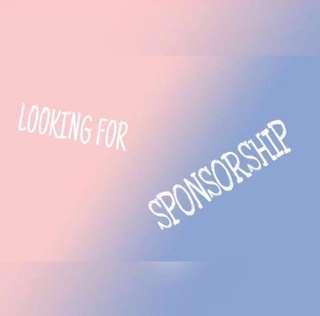 🙈 Looking for sponsorships/ friendly sponsors