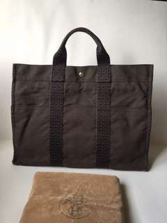 Authentic Hermes Herline MM Shopper Tote