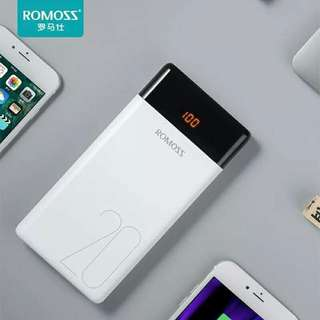 New:Romoss LT20 Powerbank 20000mah