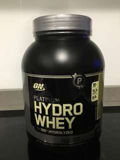 Optimum Nutrition Platinum Hydrowhey  Chocolate Mint, 3.5 Lbs. - NEW & SEALED