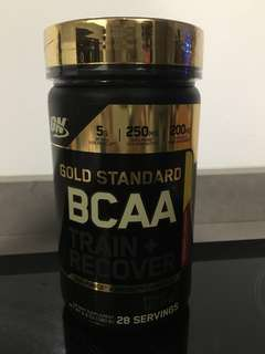 Optimum Nutrition Gold Standard BCAA  Cranberry Lemonade, 28 Servings - New & Sealed