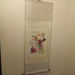 Chinese Painting 多三壽福
